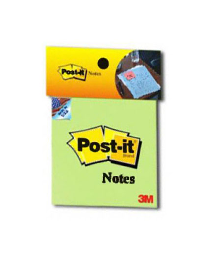 Giấy Note 3M Post-it® Xanh Lá 76mm X 76mm 654