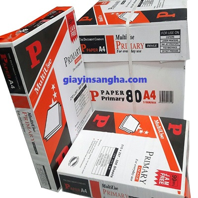 Giấy Primary 80g A4