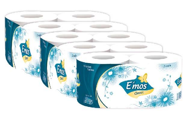 Giấy vệ sinh E'Mos giá sỉ rẻ giào hàng miễn phí tại nội thành TP.HCM